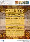 A 2018. évi Vizuális Művészeti Hónap grafikapályázat kiállítása