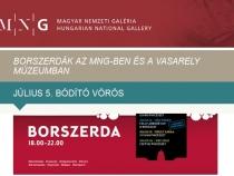 Borszerdák a Magyar Nemzeti Galériában és a Vasarely Múzeumban
