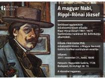 A magyar Nabi, Rippl-Rónai József vetítéssel egybekötött művészettörténeti előadás