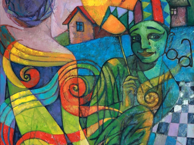Keresztmetszet - Válogatás kortárs kárpátaljai festők alkotásaiból
