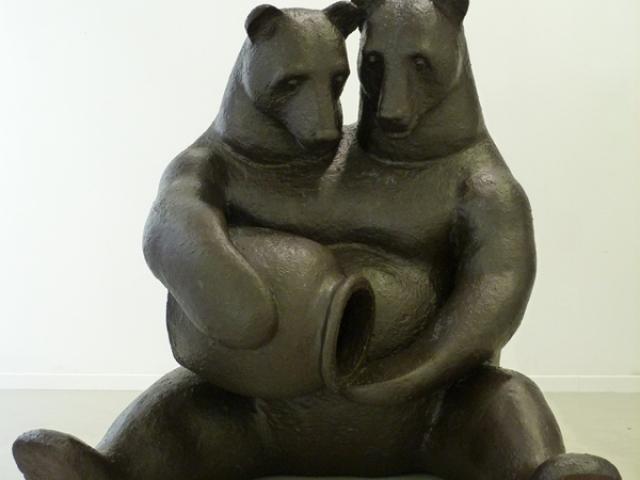 Kettős játszma - Kovách Gergő szobrai