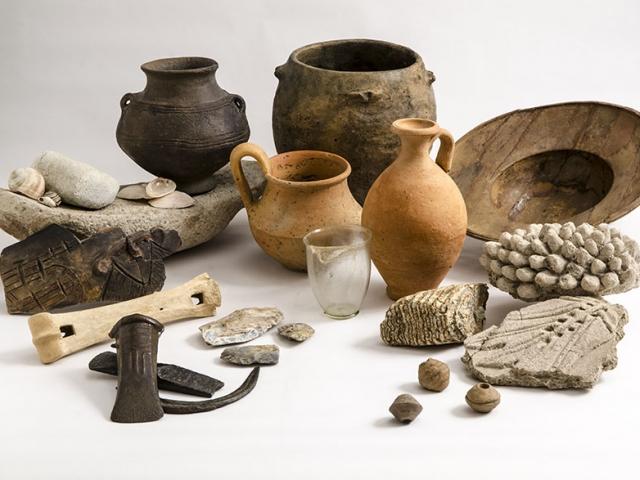 Aquincumi Múzeum - Romterület