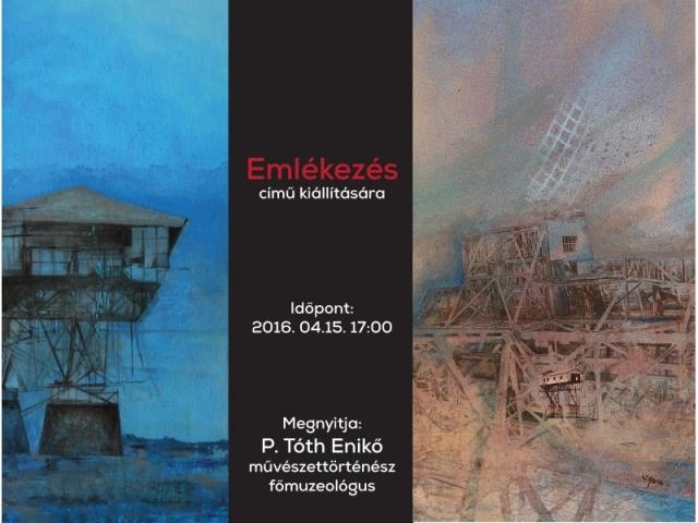 Emlékezés - Végh Éva festőművész kiállítása