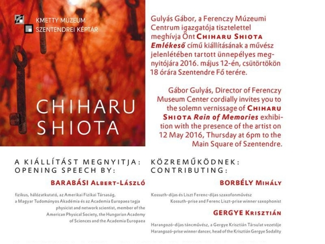 Chiharu Shiota: Emlékeső / Rain of Memories