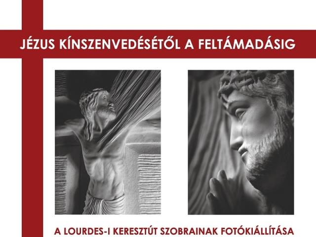 Maria De Faykod: A Lourdes-i keresztút szobrainak fotókiállítása