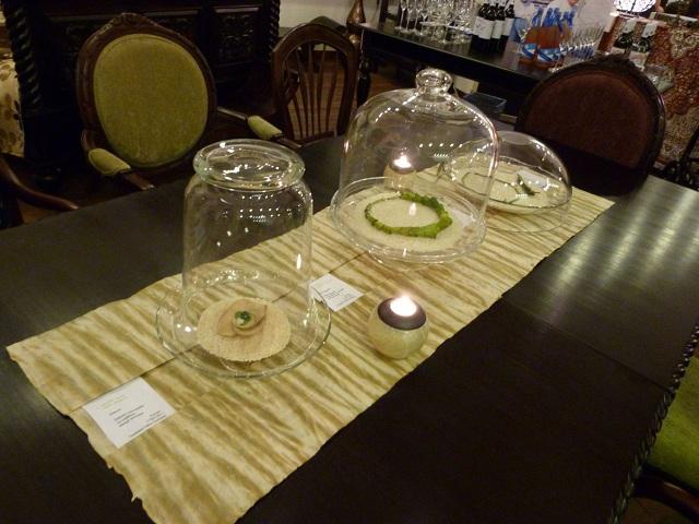 Pergamen, fa, bambusz, ezüst - ékszer