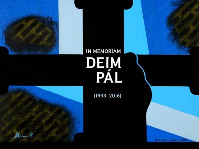 In memoriam Deim Pál (1933–2016)