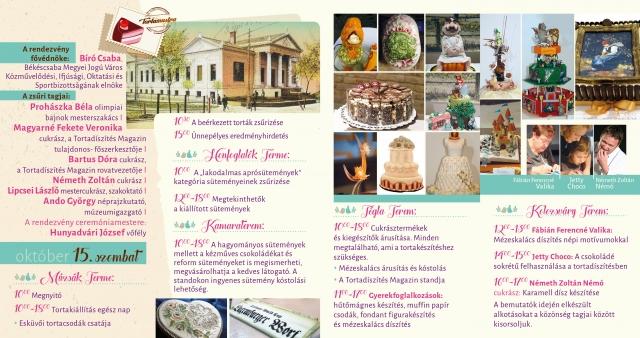 Tortakiállítás és fesztivál a Munkácsy Mihály Múzeumban