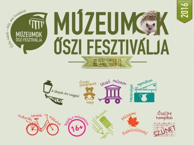 Múzeumok Őszi Fesztiválja 2016
