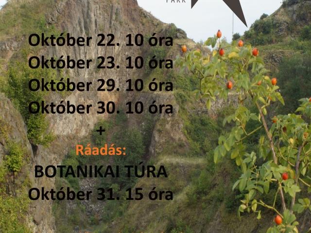 Őszi programok a Kemenes Vulkánparkban