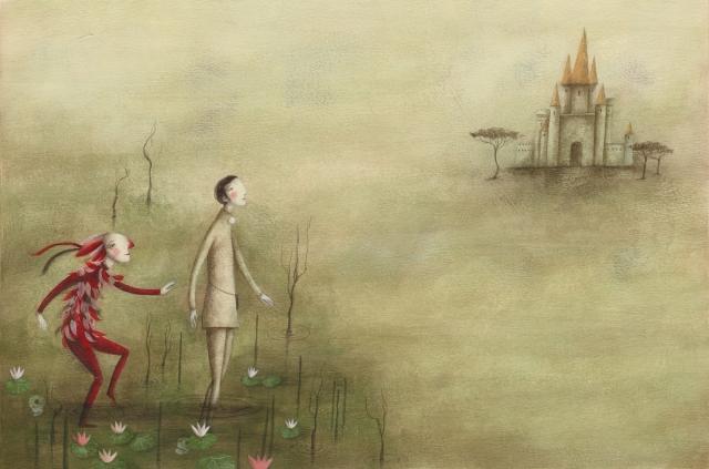 Földön lebegők, égen járók - Rofusz Kinga grafikusművész kiállítása