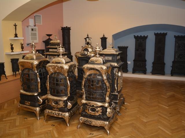 Művészi öntöttvaskályhák, a gyenesdiási Vaszkó Ernő gyűjteménye