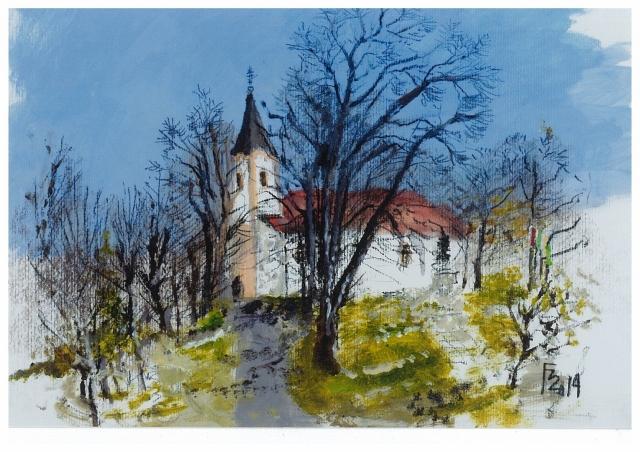 Templomok, tájak, titkok - Forster Jakab festőművész kiállítása