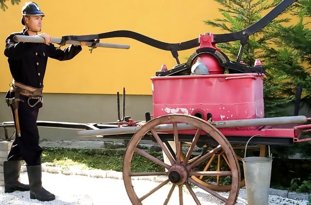 Tűzoltószertár
