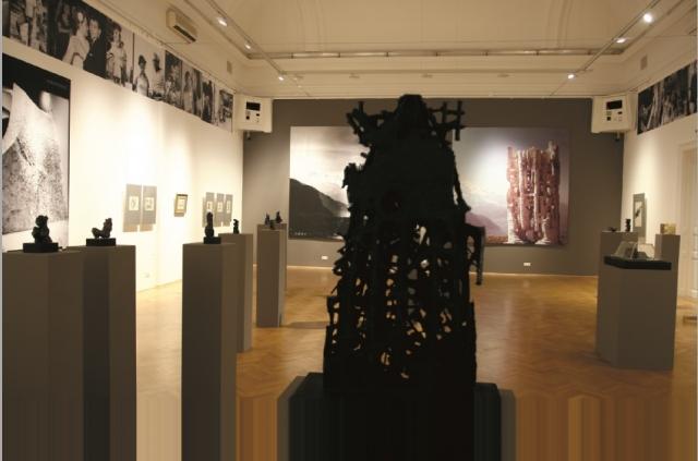 Ami monumentális: akaratot fejez ki - Pátaki Ervin szobrászművész kiállítása