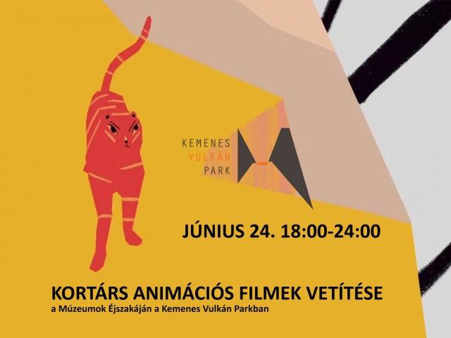 Kortárs animációs filmek vetítése a Kemenes Vulkán Parkban