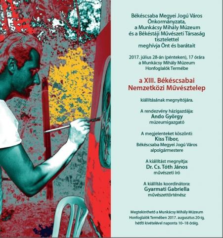 XIII. Békéscsabai Nemzetközi Művésztelep kiállítása