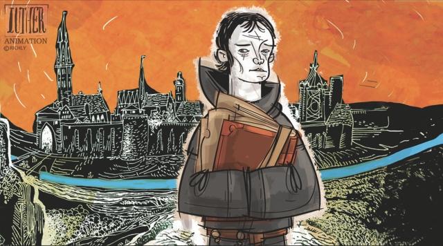 Luther Márton élete álló- és mozgóképeken - Richly Zsolt grafikusművész kiállítása