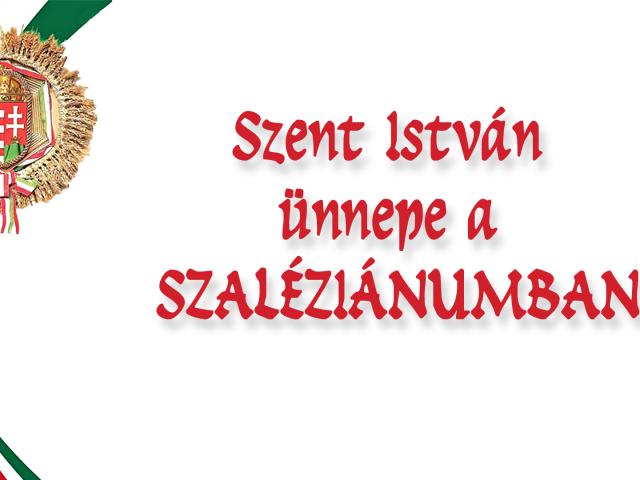 Szent István napi proramok a Szaléziánumban