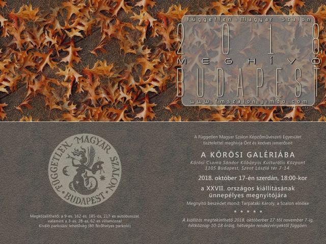 Független Magyar Szalon kiállítás 2018