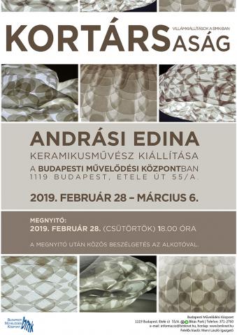 Andrási Edina keramikusművész kiállítása