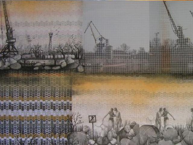 Transzparencia - Kiss Anna festőművész kiállítása