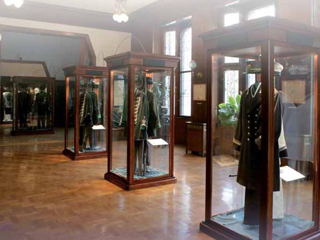 Magyar pénzügyőrség-történeti kiállítás  (Schiff er-villa)