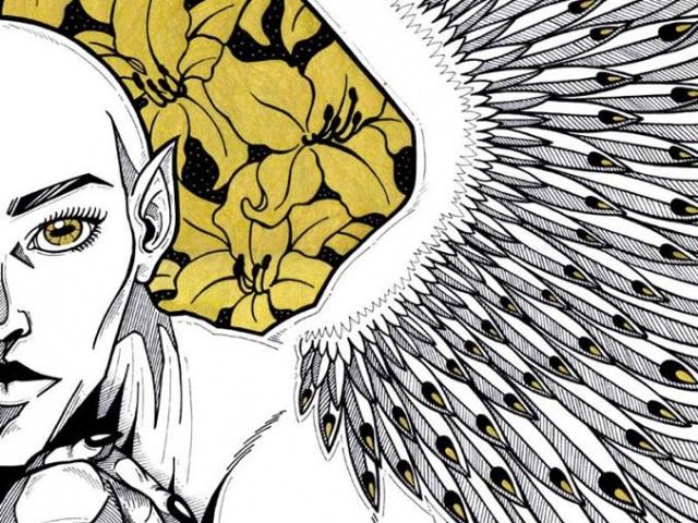 Nagy Rebeka grafikus kiállítása