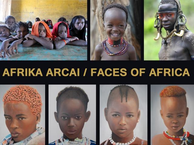 Szunyoghy Viktória és Lantai-Csont Gergely: Afrika arcai/ Faces of Africa
