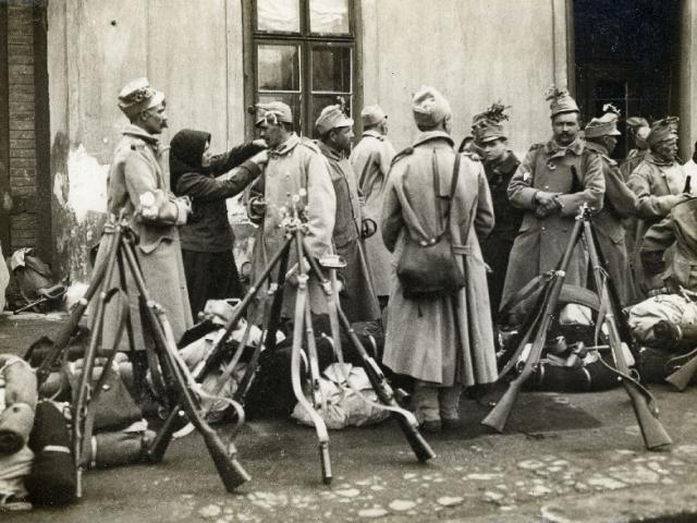 Budapest az I. Világháborúban fényképeken